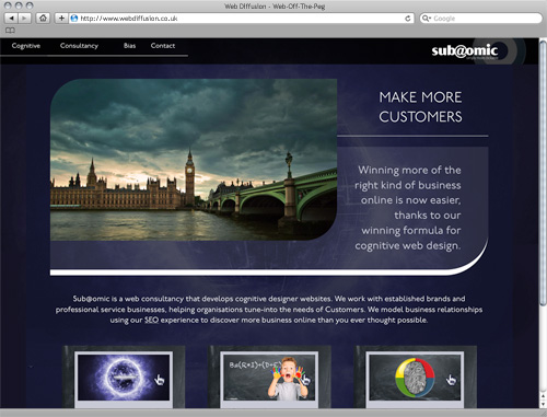 Internet consultants Web Diffusion website design